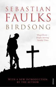 Cover of Sebastian Faulks' Birdsong