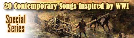 20 contemporary songs inspired by WWI